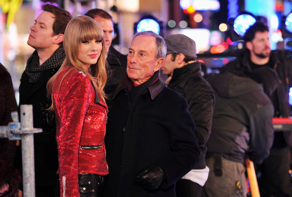 Taylor Swift and Harry Styles Hold Hands Post-New-Year's-Eve Kiss
