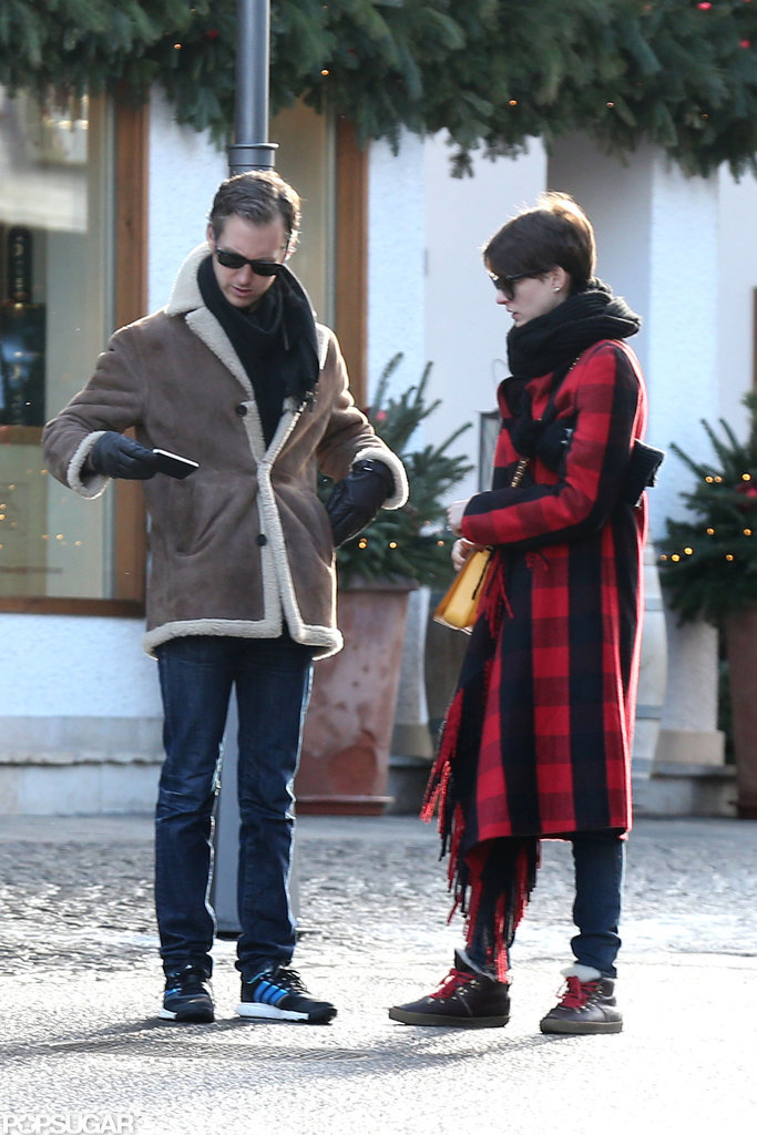 Anne Hathaway and Adam Shulman went to Switzerland with Valentino.