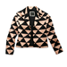 This Kelly Wearstler printed and cropped jacket ($138, originally $398) is an optical illusion, on top of everything else.