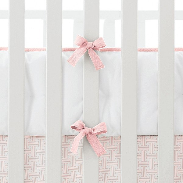 Shell Basics Crib Skirt and Bumper ($68-$115)