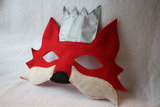 Opposite of Far Fox Mask With Crown