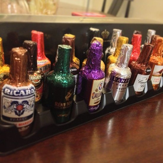 Chocolate Liquor Bottles