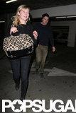 Kirsten Dunst and boyfriend Garrett Hedlund went out to the movies together.