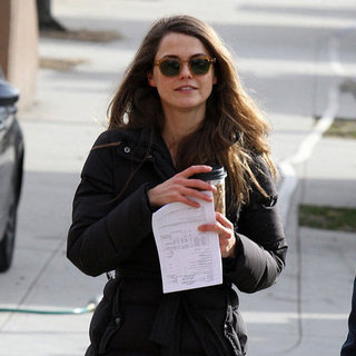 Keri Russell Filming The Americans in NYC | Pictures