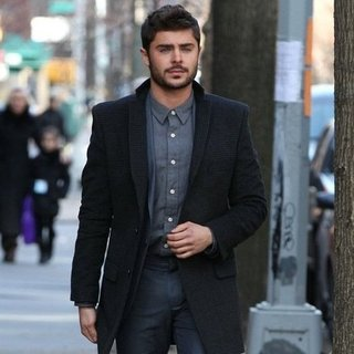 Zac Efron Filming Are We Officially Dating in Brooklyn