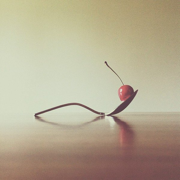 """Spoon and Cherry,"" 2012 Source: Instagram user brockdavis"