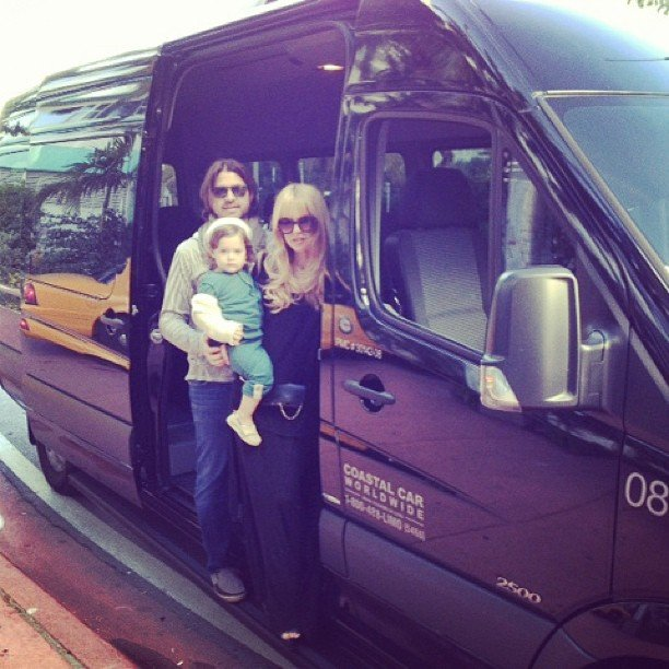 Skyler Berman joined his parents in Miami for a lil vacation over the holiday break.  Source: Instagram user rachelzoe