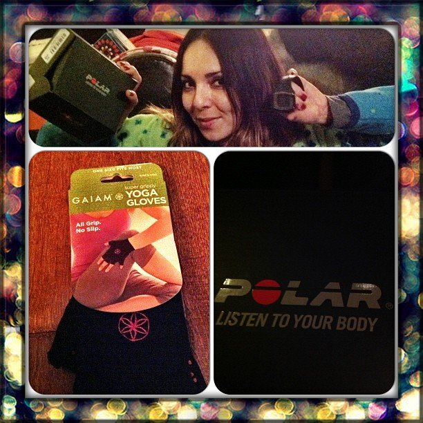 It looks like a Polar HRM was a popular gift among our readers this year.  Source: Instagram user fromfriestofit