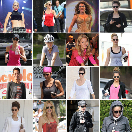 Celeb workout routines celebrity muscle toning