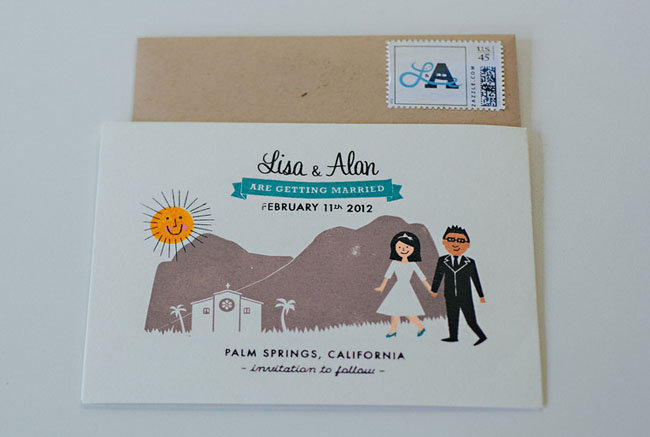 Desert-Inspired Invitations