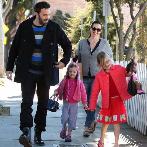 Ben Affleck and Jennifer Garner Take Their Kids Ice Skating