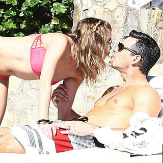 LeAnn Rimes in a Pink Bikini in Mexico