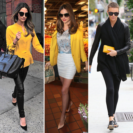 Bright yellow may just be the color of the season.