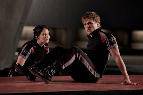 Peeta and Katniss, The Hunger Games