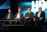 Steven Soderbergh, Michael Douglas, Matt Damon, and Jerry Weintraub took the stage at the HBO Winter 2013 TCA.