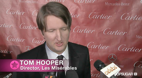 "Video: Tom Hooper Talks About the ""Amazing"" Eddie Redmayne in Les Mis"