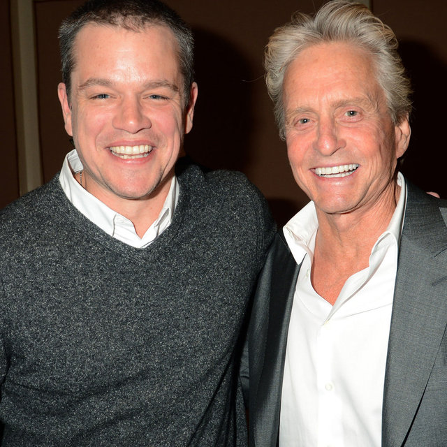Matt Damon and Michael Douglas Talk Liberace at TCA