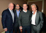 Jerry Weintraub, Steven Soderbergh, Matt Damon, and Michael Douglas attended the HBO Winter 2013 TCA.