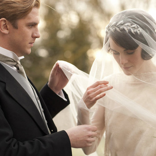 Downton Abbey Wedding Pictures
