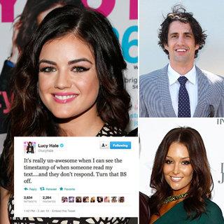 Best Celebrity Tweets: Lucy Hale, Hamish & Andy, Frank Ocean