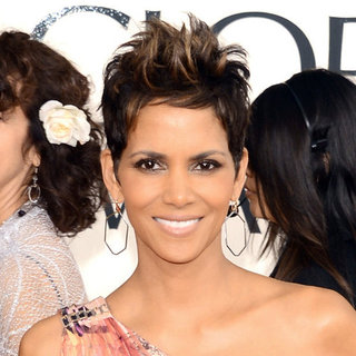 Halle Berry | Golden Globes Hair 2013