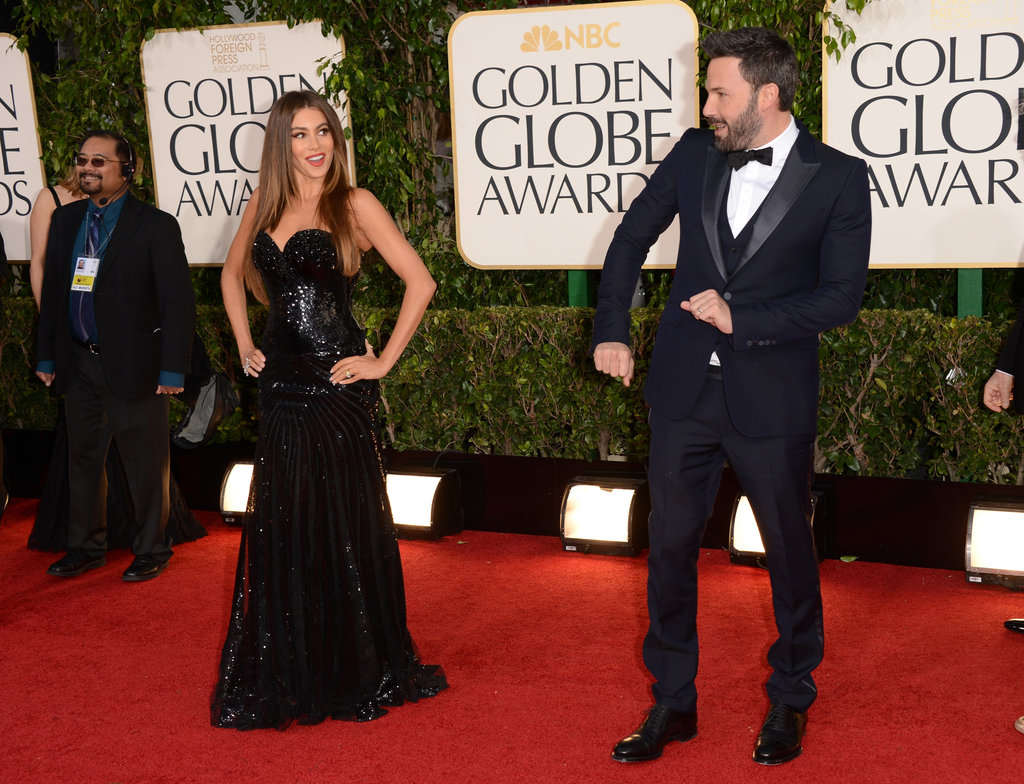Sofia Vergara and Ben Affleck