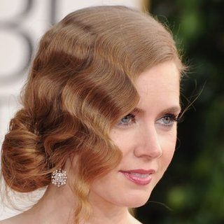 Amy Adams at the Golden Globes 2013 | Pictures