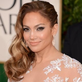 Jennifer Lopez at the Golden Globes 2013 | Pictures