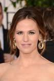 Jennifer Garner attended the 2013 Golden Globes.
