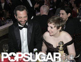 Judd Apatow and Lena Dunham