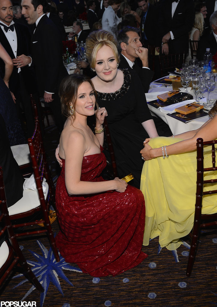 Jennifer Garner and Adele
