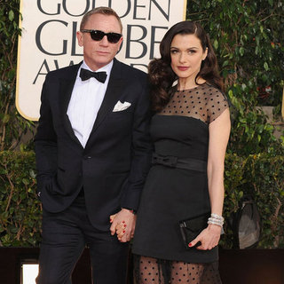 Rachel Weisz and Daniel Craig at the Golden Globes 2013