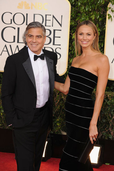 George Clooney Brings Stacy Keibler as His Globes Date