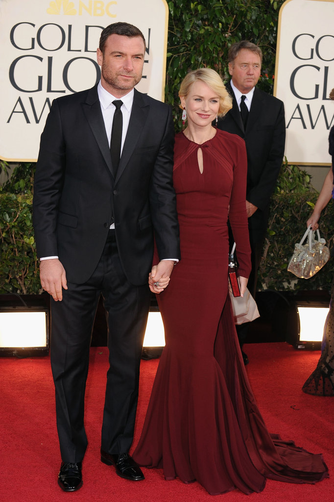Naomi Watts Dons a Dramatic Dress at the 2013 Golden Globes