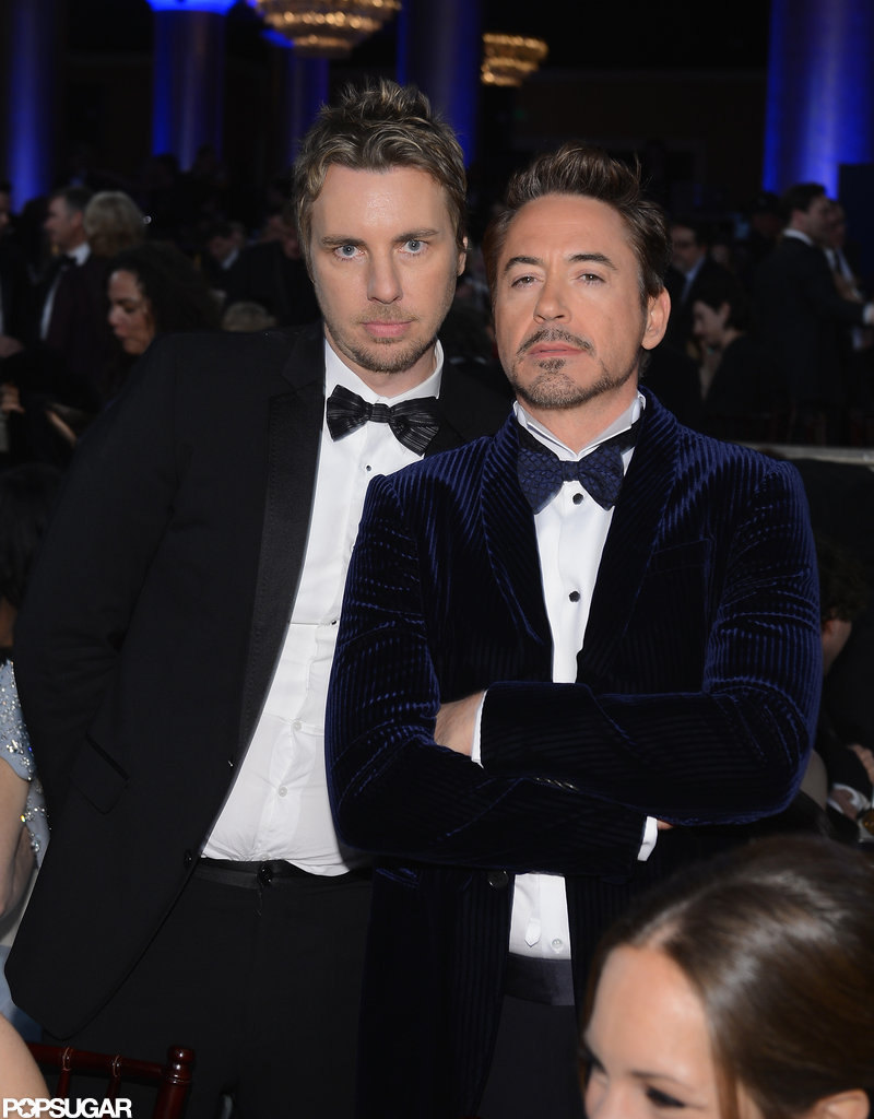 Dax Shephard and Robert Downey Jr. mugged for the camera.