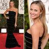 See Stacy Keibler in Armani Prive at 2013 Golden Globes