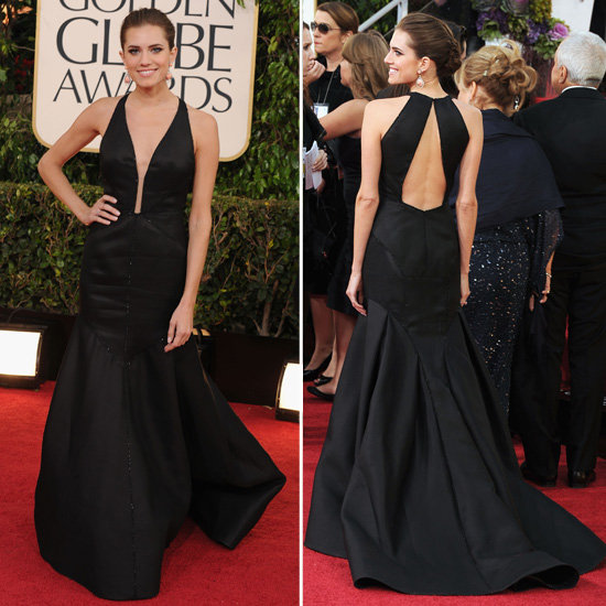 Allison Williams | Golden Globes Red Carpet Fashion 2013
