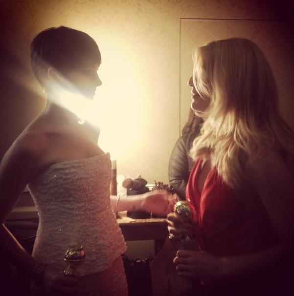 Winners Anne Hathaway ... Claire Danes Instagram