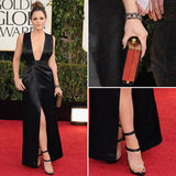 Katharine McPhee | Golden Globes Red Carpet Fashion 2013