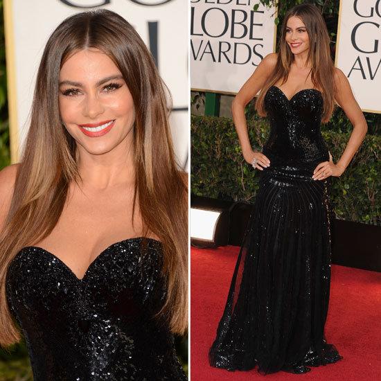 Pictures of Sofia Vergara in 2013 Golden Globes
