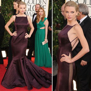 Taylor Swift | Golden Globes Red Carpet Fashion 2013