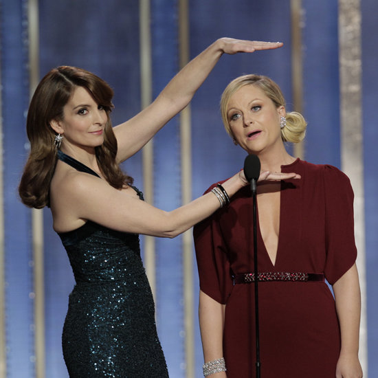 Golden Globe Hosts Tina and Amy Crack Jokes Only Women Could Tell