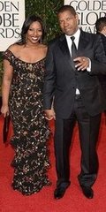 Denzel Washington and daughter Olivia(2013 Golden Globes Awards)