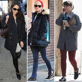 Brr, It's Cold! 7 Celebrity Outerwear Trends to Shop Right Now