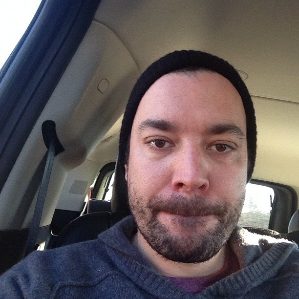 Jimmy Fallon teased that he might shave his beard on his show. In stages.  Source: Instagram user jimmyfallon