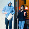 Ashton Kutcher and Mila Kunis Coffee Run in LA