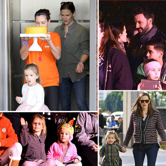 How Ben and Jennifer Celebrated Seraphina's Fourth Birthday