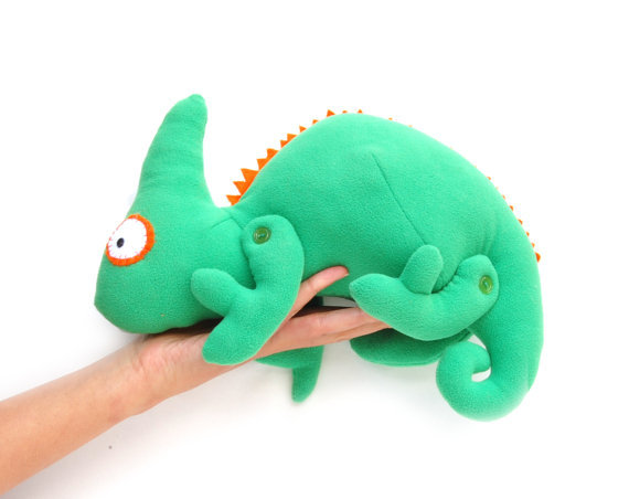 Soft Toy Chameleon