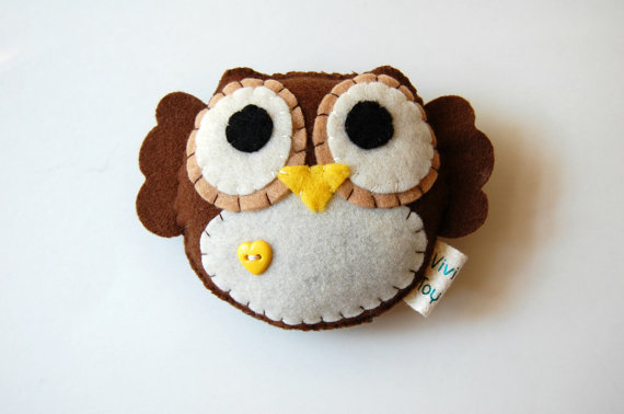 Eco-Friendly Plush Owl