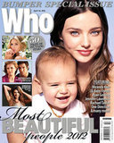 In April 2012 Flynn made his magazine cover debut with Miranda on Who's Most Beautiful issue.